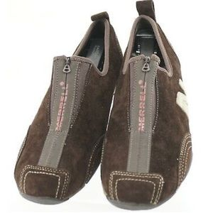 Merrill Barbados Chestnut Suede Tennis  Loafers 8